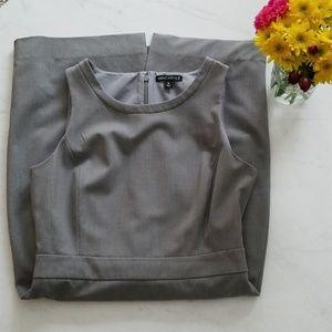 J. Crew Mercantile Gray Sheath Dress